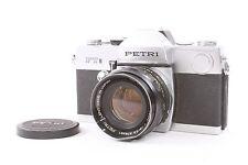 Petri FT II 35mm Film SLR Camera w/ 55mm F/1.8 Lens