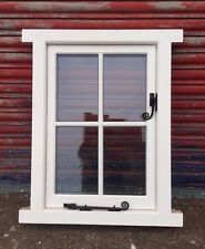 Wooden Timber Cottage style Casement Window Glazed!! Made To Measure!! Bespoke!!