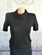 Liz Claiborne Petite's Knit Cowl Neck Top - Size Medium
