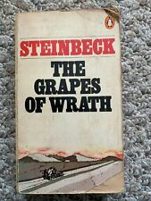 VINTAGE 1976 ~ GRAPES OF WRATH ~ STEINBECK ~ EC PB W EDUCATIONAL NOTES