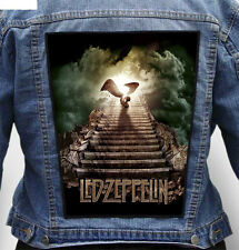 Led Zeppelin Stairway - Giant Indestructible Photo Quality Backpatch Back Patch