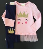 Gymboree Girls Crown Jewel Tee & Leggings Size 3T NWT NEW