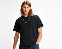 Levis Authentic Tshirt  Levi's Crewneck Tee  Regular Fit T-Shirt Black RRP £25