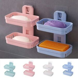 New 1PC Bathroom Shower Soap Box Dish Storage Plate Tray Holder Case Soap Holder