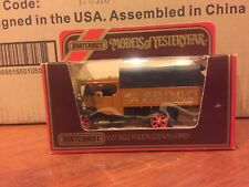 Matchbox Models Of Yesteryear -Y27 1922 Foden C Type Steam Wagon .1984