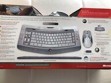 Wireless Entertainment Desktop 8000 Keyboard Mouse Window Vista Rechargeable