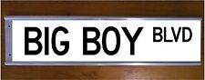 BIG BOY STREET SIGN ROAD BAR SIGN - FUNNY GIFT RARE COLLECTABLE