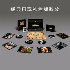 The Godfather Trilogy M&K Sound Exclusive SteelBook Box Set (China Imp.) - Read!