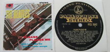 THE BEATLES PLEASE PLEASE ME BLACK/GOLD COVER & LABEL DECAL VINYL STICKERS