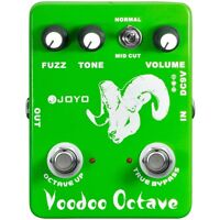 Joyo JF-12 Voodoo Octave Divider & Fuzz Combination Guitar Dual Effects Pedal