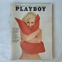 Vintage Playboy Magazine February 1969 Pamela Tiffin Woody Allen Rare Free Ship