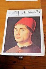 Masters Knowledge Publications No 20 Antonello Rare Artist History Painting Art