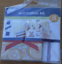 Generations Accordion Scrapbooking Kit - Over 15 Pieces - BRAND NEW IN PACKAGE