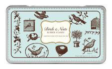 Cavallini & Co Bird And Nest Stamp Set, Birds, Nests, Aviary, Rubber Stamp Craft