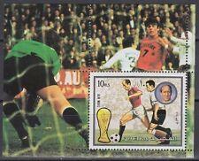 Fujeira 1972 ** Bl.142 A Fußball Football