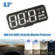 3.2inch Car HUD OBD2 Gauge Head Up Display Projector Speedometer Water Voltmeter