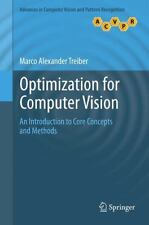 OPTIMIZATION FOR COMPUTER VISION - NEW HARDCOVER BOOK
