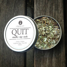 QUIT Legal, Organic, Herbal Smoking Blended Tea • Smoke | Sip | Soak