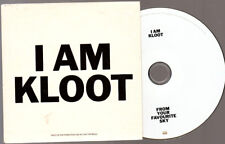 Promo Music CD, I am Kloot, From your Favourite Sky ***