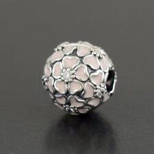 Genuine Authentic Silver Pandora S925 ALE Cherry Blossom 791826EN40