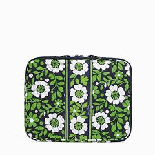 "Beautiful Vera Bradley ""Lucky You"" Padded NWT Laptop Sleeve Fits 13"" Mac & Dell"