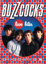 "BUZZCOCKS- LOVE BITES Repro Retro Punk Poster A1 Size 84.1cm x 59.4cm-33"" x 24"""