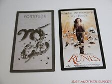Mortal Instruments City of Bones World in Runes Rune Card Single Fortitude NEW