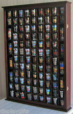 100 Shot Glass Display Case Wall Cabinet Rack Shadow Box, SC15-MA