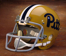 1976 NATIONAL CHAMPIONS PITT PANTHERS Authentic GAMEDAY Football Helmet