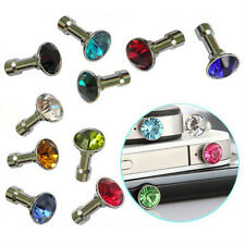 10x Anti Dust Plug Mobile iPhone 6 Plus Charms Bling 3.5mm Crystal Earphone Jack