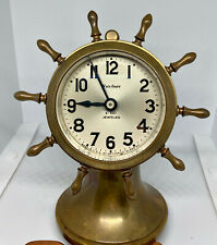 "Waterbury ""Ensign"" Ships Clock - c. 1930 - Desk Top Size"