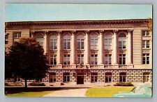 Boone Iowa IA County Court House View Vintage Color Postcard 1960s