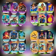 Spirit & Sport & Fairy Tale & Supervillains Full Sets ### Coin Master Cards