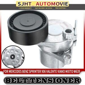 Belt Tensioner for Mercedes Benz Sprinter 906 Valente Viano Mixto W639 w/ Pulley
