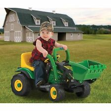 John Deere Mini Loader Ride on Tractor Peg Perego Battery Powered Power Wheels
