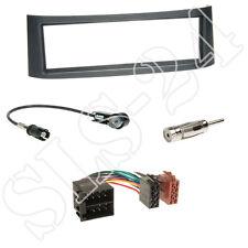 Smart Roadster 03-05 Autoradio Einbauset Kabel ISO Adapter Radioblende anthrazit