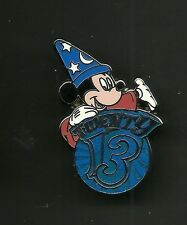 Mickey Mouse Sorcerer's Apprentice 2013 Splendid Walt Disney Pin