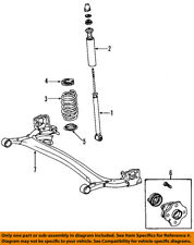 NISSAN OEM 07-12 Versa Rear Suspension-Axle Assembly 555019EL0A