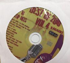 BEST OF 2010 VOL 4 SINGLES KARAOKE DISC B10-04 CD+G POP RHIANNA BRUNO MARS USHER