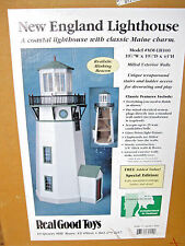 "New England LIGHTHOUSE Kit Real Good Toys 1"" scale Sealed Box dollhouse LH100"