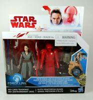 New Star Wars The Last Jedi Force Link Rey & Elite Praetorian Guard 2 Pack