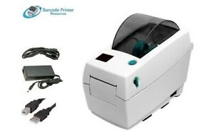 Zebra LP2824 Barcode Label Printer Direct Thermal, USB Cable