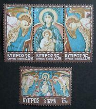 Cyprus (1970) Christmas Nativity / Religion - Mint (MNH)