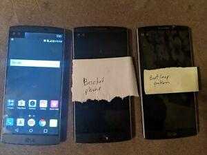 LG V10 - (LOT OF 3) - UNLOCKED - Black - Parts & Repair