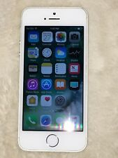 Apple iPhone 5S  A1453 Straight Talk Silver  16GB  MN6R2LL/A  Good 7.5/10  # 835
