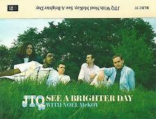 JTQ Noel McKoy See A Brighter Day CASSETTE SINGLE JAMES TAYLOR QUARTET ACID JAZZ
