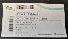 More details for black sabbath concert ticket - from their very last concert, ever!  free postage