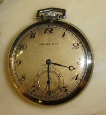 Antique Pocket Watch Tiffany & Co Switzerland by Agassiz W. Co. 21 Jewels Rare