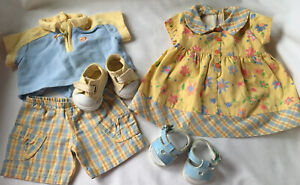 American Doll Bitty Baby Twins Sunny Day Outfits - Boy and Girl Clothes & Shoes