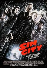 SIN CITY (2005) ORIGINAL MOVIE POSTER  -  ROLLED